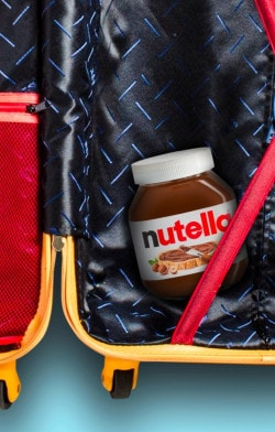 Travel with your Jar | Nutella
