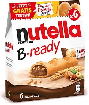 nutella B-ready Packung