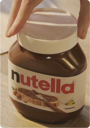 From Inside Out Jar | Nutella