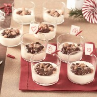 Mousse de chocolate blanco con crumble y Nutella® | Nutella