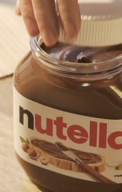 Opening the Jar | Nutella
