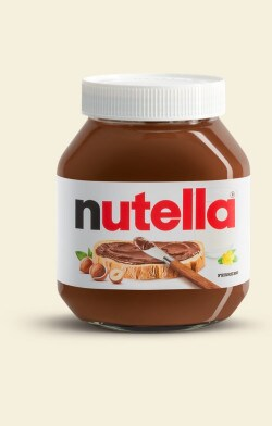 New look Jar | Nutella