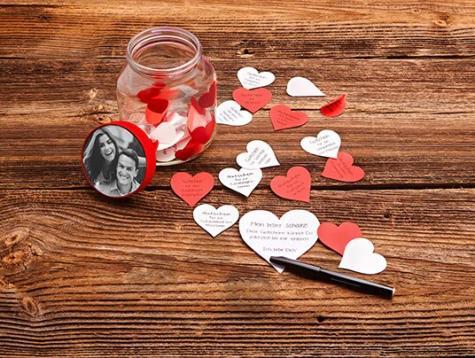 Love Jar From A Nutella Jar Diy Idea