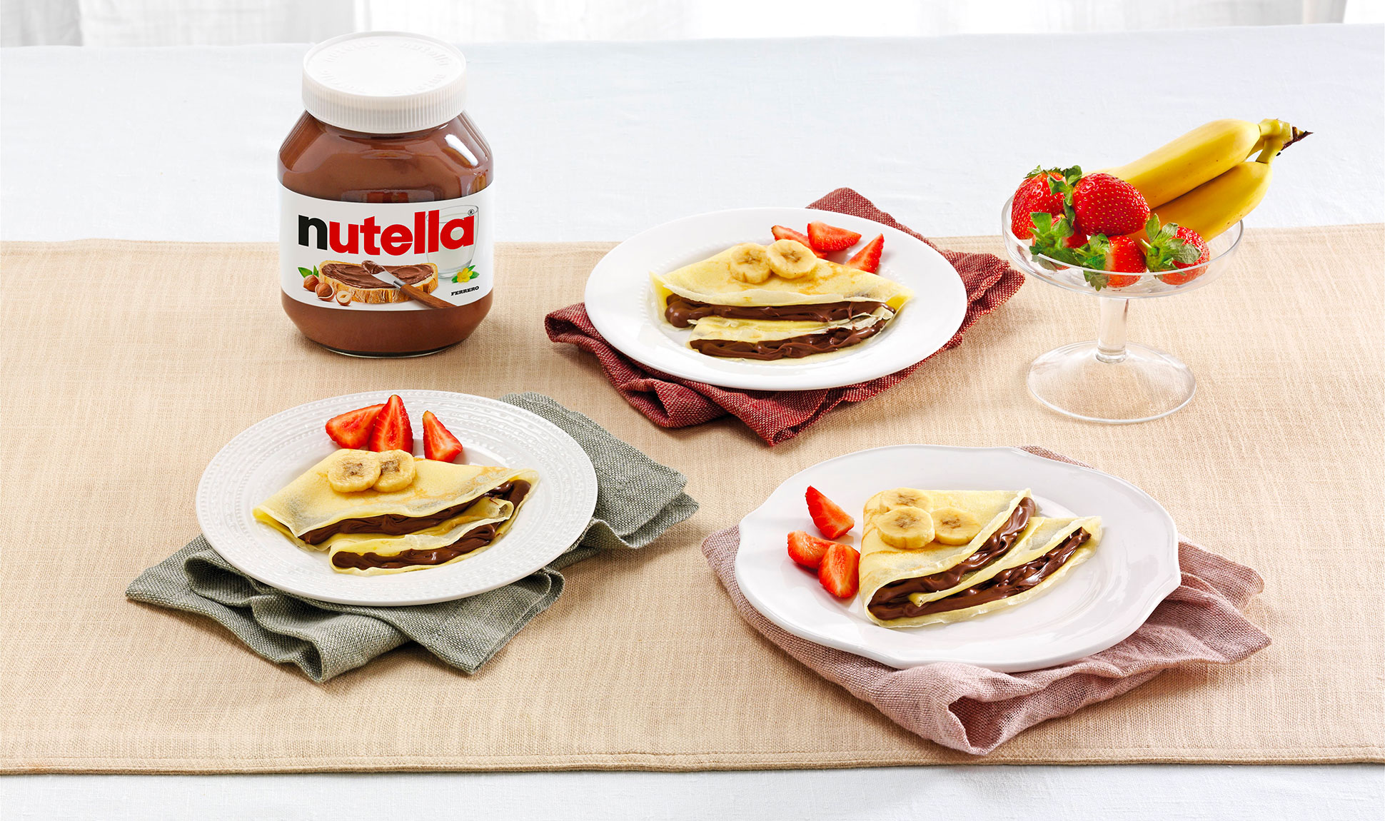 Crepes With Nutella And Fruit Recipes Nutella Recipe
