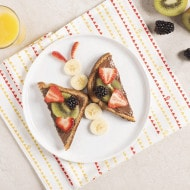 Breakfast Butterfly Toasts
